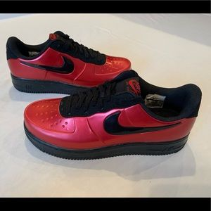 Nike Air Force 1 AF1 Foamposite Pro Cup Gym Red